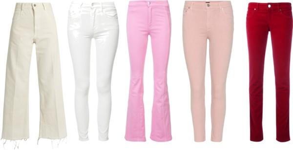 Comment choisir sa couleur de jean pour la saison estivale.